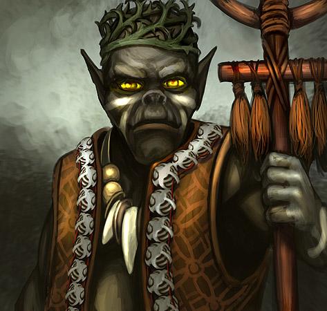 Верховный шаман древников